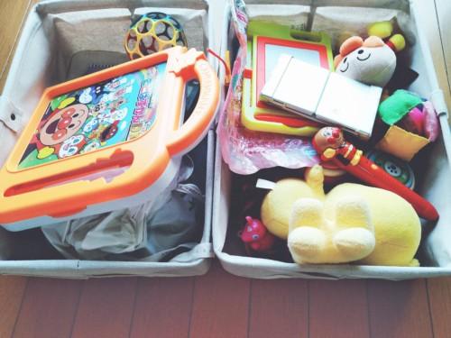 おもちゃ収納布ボックス